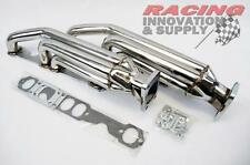 Small Block Chevy SBC GM Twin Turbo Headers 350 305 400