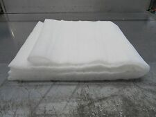 Fake snow blanket 10m roll. Indoor or outoor use grotto christmas scene snow 27""