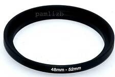 48mm-52mm  camera lens Filter stepping  adapter ring ,    48-52mm