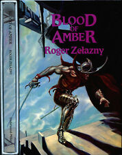 Blood of Amber (Amber Chronicles) by Roger Zelazny HC 1st/1st Signed Limited