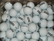 300 - New Range Balls Black Stripe Golf Balls - 25 Dozen