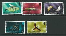 PITCAIRN ISLANDS SG162/6 1975 INSECTS MNH
