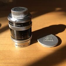 Kern Paillard Switar 13mm f0.9 D Mount Cine Lens
