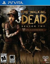 The Walking Dead Season Two 2 RE-SEALED Sony PlayStation Vita GAME