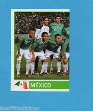 COPA AMERICA 2011 ARGENTINA-Figurina n.250- SQUADRA/TEAM SX -MESSICO-NEW BLACK