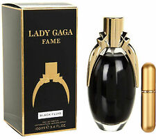 Lady Gaga Fame Black Fluid EDP For Woman 5ml Refillable Spray 100% Authentic