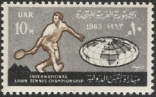 Egypt 1963 International Lawn Tennis Championships/Sports/Games 1v (n44546)