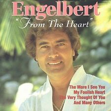 From the Heart by Engelbert Humperdinck (Vocal) (CD, Feb-1996, ITC Masters) NEW