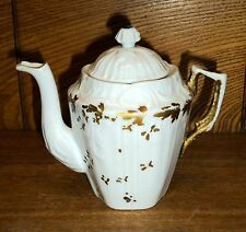 Antique Small Demitasse Or Doll Porcelain Teapot Or Coffee Pot