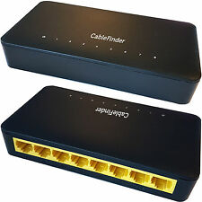 8 Port/Way 1000mbps Gigabit Ethernet Netzwerk Switch RJ45 CAT6 Verteiler Router