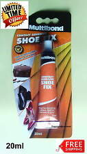 Shoe fix repair glue Multibond Contact Adhesive bonding Rubber, Leather, Canvas
