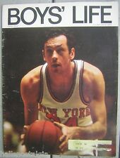 October, 1970 BOYS' LIFE with New York Knicks Bill Bradley Cover