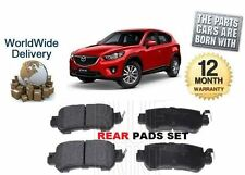 FOR MAZDA CX5 2.0 2.2 DT 2011-- ON NEW REAR BRAKE DISC PADS SET