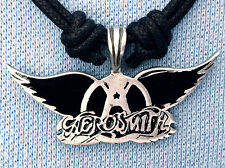 AEROSMITH WINGS PEWTER PENDANT MENS BOYS WOMENS GIRLS NECKLACE BP 033