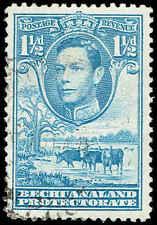 Scott # 126 - 1938 - ' George VI, Cattle and Baobab Tree '