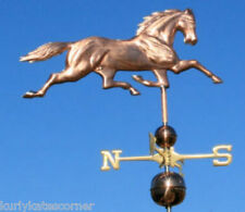 WONDERFUL LARGE COPPER HORSE WEATHERVANE MADE IN USA #427