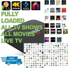 UNLOCKED Android TV Box KODI + MOBDRO, MOVIES, TV SHOWS  (Works like Fire Stick)