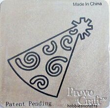 "PROVOCRAFT CUTTLEBUG 2 ""x 2"" CUTTING DIE - BIRTHDAY SET - PARTY HAT"