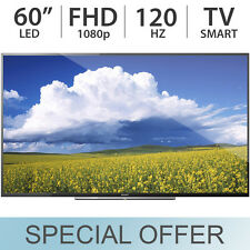 "Sony 60"" Inch Full HD 1080p Smart LED 120Hz TV w/ 4 HDMI & 2 USB  KDL60W610B"