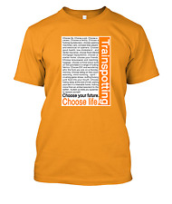 Choose life Trainspotting t shirt t-shirt tee tshirt. various colours and sizes.