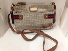 NEW ARRIVAL! TOMMY HILFIGER EAST WEST BROWN MESSENGER CROSSBODY SLING BAG $69