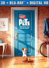 The Secret Life of Pets (Blu-ray Disc, 3D)