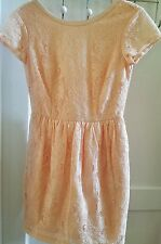 H & M Conscious Collection Lace Overlay Cocktail Dress Size 6