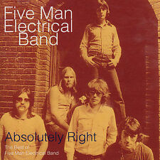 FIVE MAN ELECTRICAL BAND - ABSOLUTELY RIGHT: BEST OF - CD