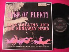 RARE JAZZ LP - DICK COLLINS RUNAWAY HERD - HORN OF PLENTY RCA NL-45632 SPAIN NM