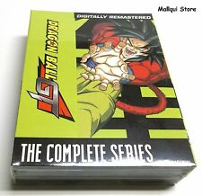 DRAGON BALL GT Complete Series DVD Seasons 1, 2 + GT Movie on 10 discs