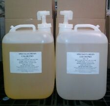 Color-Pro Clear Casting Resin Liquid Plastic (10 gallons)