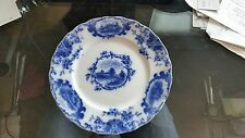 Plate - J. G. Meakin Romantic England English Ironstone Blue 10'
