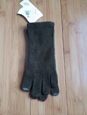 ECHO TOUCH* MSOFT Kids DEVICE  Knit Gloves in GREEN ~ One Size ~ NWT
