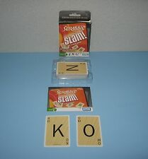 Parker Brothers Scrabble Slam High-Speed Four Letter Word Game for Ages 8+