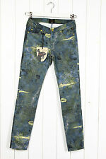 NEW VIVIENNE WESTWOOD x LEE JEGGING SKINNY  JEANS UK10 W28 L33