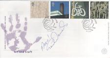 "PAUL DANIELS  - SIGNED - "" ARTS "" FIRST DAY ENVELOPE"
