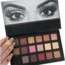 New Rose Gold Textured Eyeshadow 18 Colors Matte Eyeshadow Palette Cosmetics