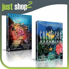 Coral Sea Dreaming Special Edition + Reefscapes : New Documentary DVD (RARE)