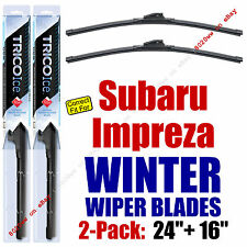 WINTER Wipers 2-Pack Premium Grade - fit 2008-2009 Subaru Impreza - 35240/160
