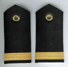 Pair Obsolete Canadian Navy Acting Sub Lieutenant Female Shoulder Boards