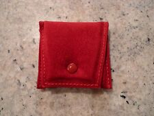 CARTIER CLASSIC STORAGE/POUCH FOR RINGS, RED SIGNATURE COLOR