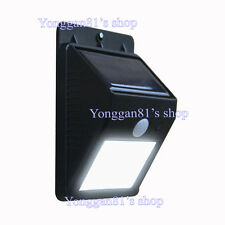 Outdoor Solar Power Light LED Motion Detector Security Exterior Lighting Sensing
