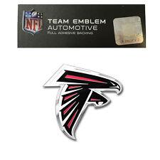 Promark New NFL Atlanta Falcons Color Aluminum 3-D Auto Emblem Sticker Decal