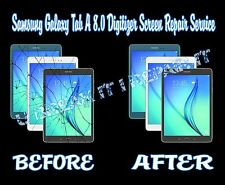 Samsung Galaxy Tab A 8.0 Broken Cracked Glass Digitizer Screen Repair Service