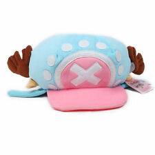 New Sky Blue One Piece Tony Chopper Hat Cap Japanese Anime Cartoon Cosplay Gift