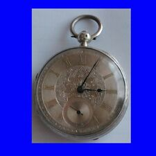 Substantial Silver & Gold  20 Size Goliath Fusee Muncaster Pocket Watch 1897