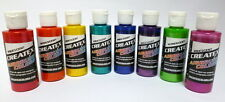 Createx kit 8 colori iridescenti aerografo 60 ML