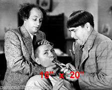 "Three Stooges~Dentist~Photo~Decor~Poster~ 16"" x  20"""