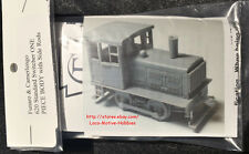 Funaro F&C 620  PLYMOUTH  Diesel SIDE ROD YARD SWITCHER Critter    1-PIECE Shell