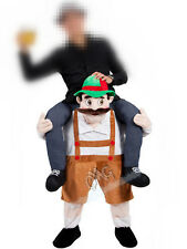 Hot Bavarian Beer Guy Carry me Costume Ride On Oktoberfest Piggy Back Free Ship